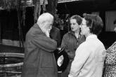 Pierre Bovet in visita al CEIS, 1957